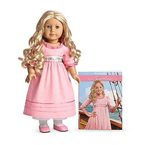 American Girl - Beforever Caroline Doll & Paperback Book by American Girl