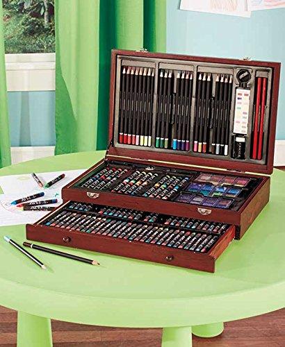 Art 101 142-Piece Wood Art Set from Art 101
