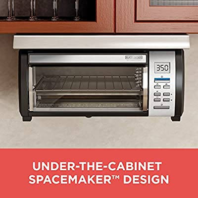 BLACK+DECKER CO100B SpaceMaker Under The Cabinet Multi-Purpose Can Opener, Black