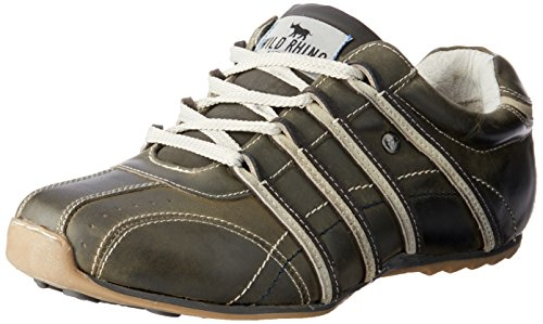 Wild Rhino Men Kaka Trainers Shoes Grey (Smokey)