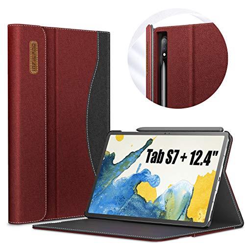 کیف INFILAND برای تبلت سامسونگ مدل Galaxy Tab S7+/ S7 12.4- SM-T970/T975/T976 2020