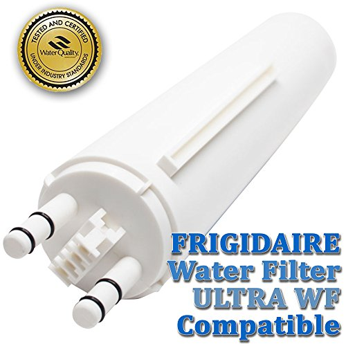 ULTRAWF Refrigerator Water Filter For Frigidaire, Kenmore 46-9999, 469999,242017800,242017801,PS2364646,A0094E28261 BY MIARA`s (Refrigerator Air Dryer compare prices)