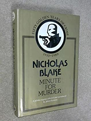 book cover of Minute for Murder
