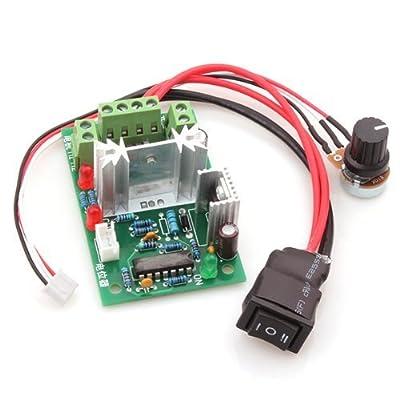 DN 120W DC Motor Speed Controller Input 10VDC~30VDC W/ Potentiometer
