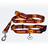 Hunter Washington Redskins Pet Collar, Lead and ID Tag Combo Set, X-Small