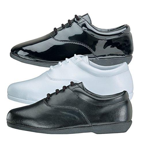 Style Plus Herren Pinnacle Marching Schuh Weiß