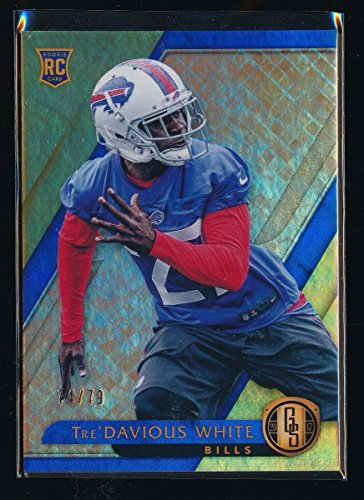 TRE'DAVIOUS WHITE 2017 PANINI GOLD STANDARD #181 RC 74/79 *BUFFALO BILLS*