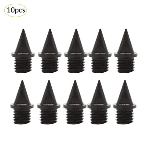 10pcs Track and Cross Country Spikes Replacement Shoe Track Spikes Wrench