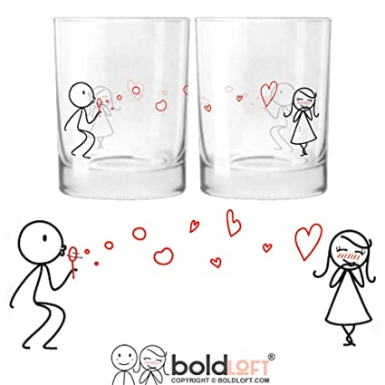 Amazon Com Boldloft From My Heart To Yours His Hers Drinking