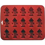 K9 Cakery Mini molde para Hidrantes contra incendios con 15 cavidad, 21,59 cm x 17,15 cm