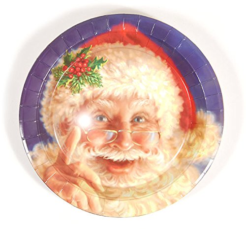 DDI 2127568 Santa Face Plates - Case of 36 from D&D