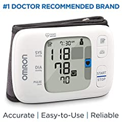 The OMRON GOLD WIRELESS wrist blood pressure monitor stores up to 200 readings for 2 users (100 readings for each user) in the monitor, or unlimited readings when used with the Omron Connect app, allowing you to keep a comprehensive recording...