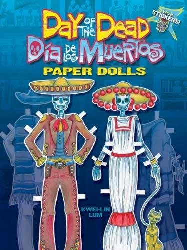 Download Day of the Dead/Dia de los Muertos Paper Dolls (Dover Paper Dolls) pdf