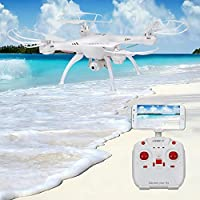 GBSELL 2.4G LiDiRC L15W 4CH HD Camera WiFi FPV 6-axis Gyro RC Quadcopter Altitude Hold