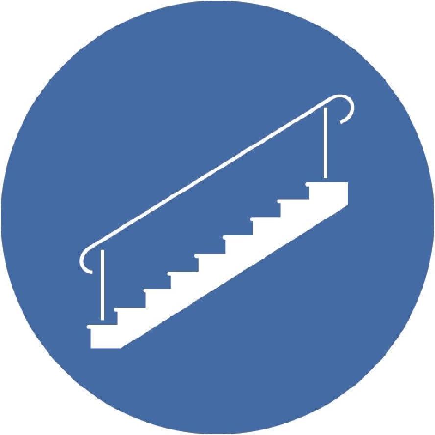 REER La barri/ère /à visser basique 46101 protection de porte blanc