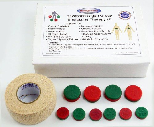 Organ Group Therapy - Advanced Biomagnetic Organ Therapy Kit