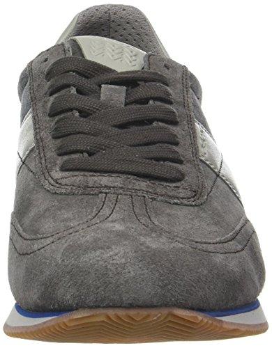da Sneakers fango B Vinto antracite Grey Geox uomo U Low xvZqIwptP4