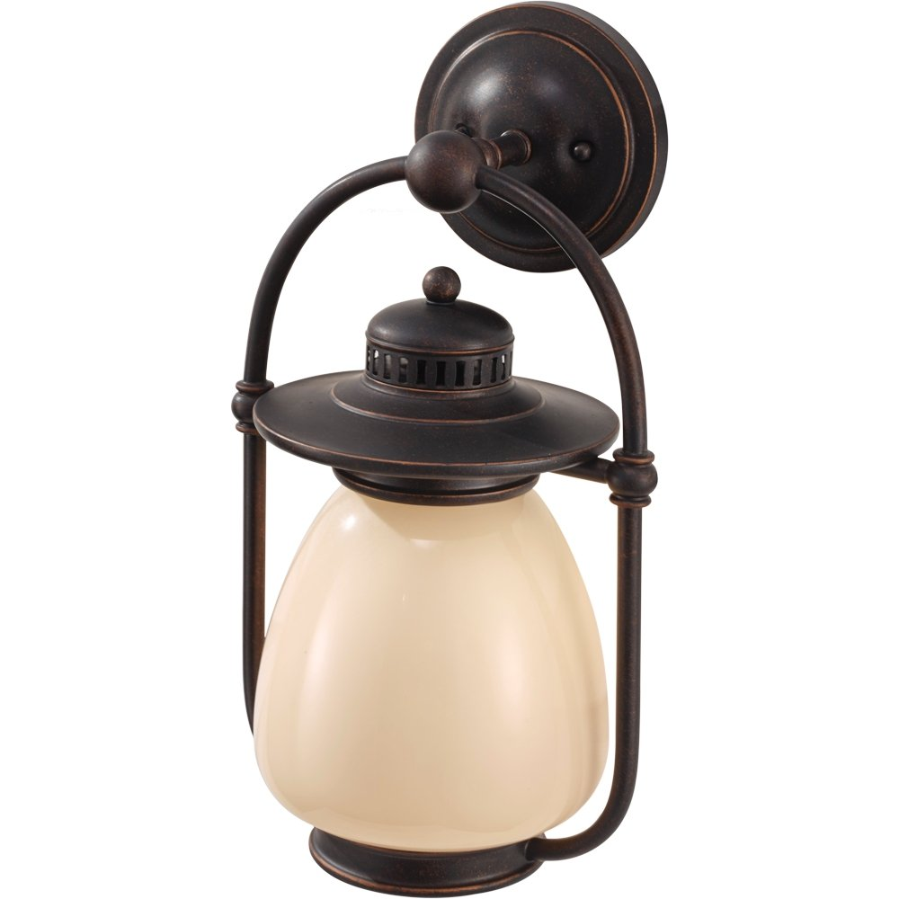 Feiss OL9402GBZ 1-Bulb Outdoor Lighting Fixture, Grecian Bronze Finish, See Image