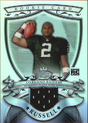 (2007 Bowman Sterling Refractors #JR1 JaMarcus Russell Jersey Serial #'d/199 )