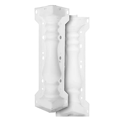 Roman Column Mold Balcony Garden Pool Fence Cement Railing Plaster Concrete