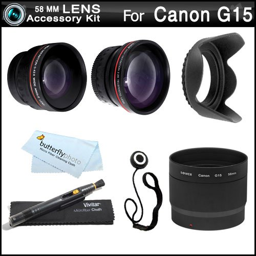Review 58mm Wide Angle Telephoto