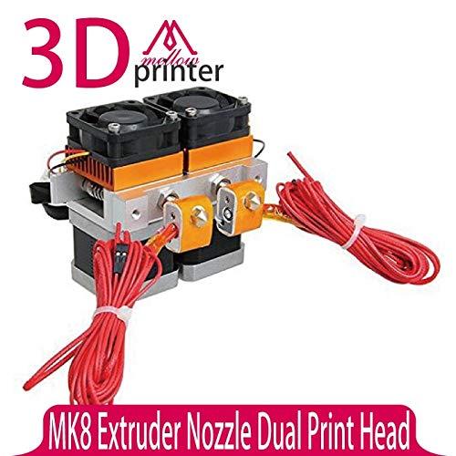 Impresora 3D - Cabezal de impresora 3D con boquilla extrusora MK8 ...