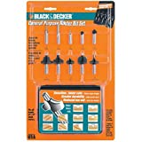 Black & Decker 76-318 Router Bit Set, 10-Piece