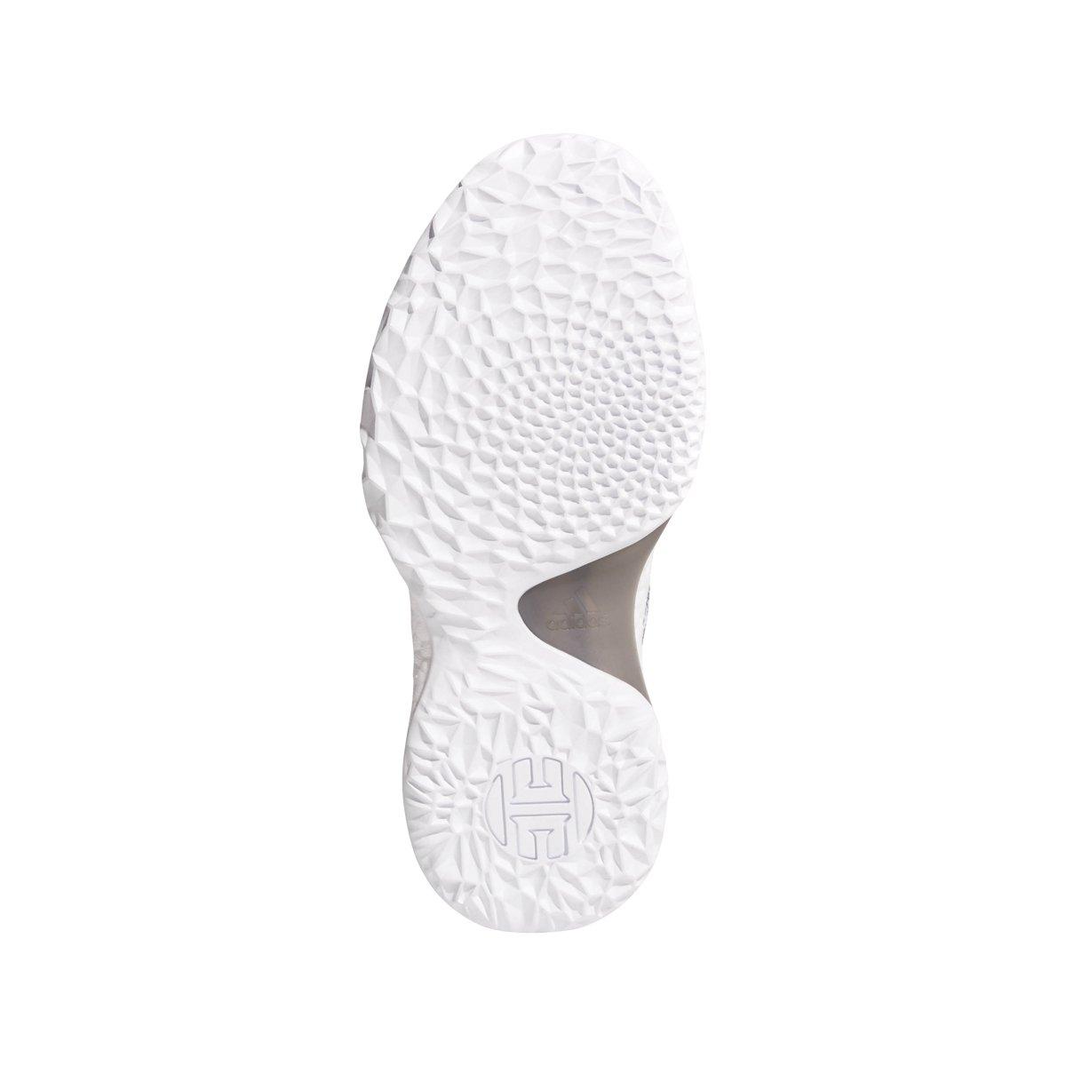daf3600d172 adidas Harden Vol. 1 LS Primeknit Shoe Junior s Basketball 3.5 White-Core  Black-Grey  Amazon.co.uk  Shoes   Bags