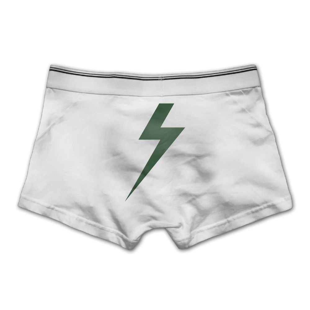 Pmftryuer Mens Underwear Boxer Briefs Underpants Bolt