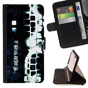 Momo Phone Case / Flip Funda de Cuero Case Cover - Entre nosotros;;;;;;;; - Samsung Galaxy Note 4 IV