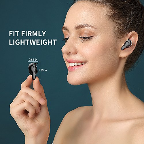 Wireless Earbuds, AMINY U-winner bluetooth 5.0 True Wireless Bluetooth Earbuds with Charging Case 20H Play time 3D Stereo Sound Wireless Headphones for iPhone Samsung Android, Built-in Microphone … by Aminy (Image #4)