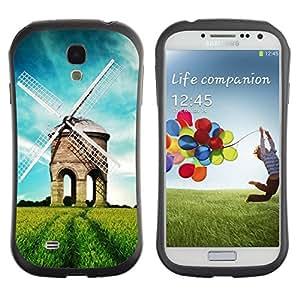 "Hypernova Slim Fit Dual Barniz Protector Caso Case Funda Para SAMSUNG Galaxy S4 IV / i9500 / i9515 / i9505G / SGH-i337 [Naturaleza Hermosa Forrest Verde 39""]"