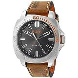 BOSS Orange Men's 1513294 Sao Paulo Analog Display Japanese Quartz Brown Watch
