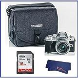 Olympus OM-D E-M10 Mark III (Mark 3) Digital Camera Bundle (With 14-42mm EZ Lens, Silver)