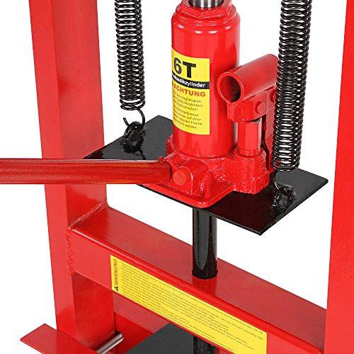 Timbertech Wspr01 Pressa Manuale Idraulica 6t Inclusa Pompa