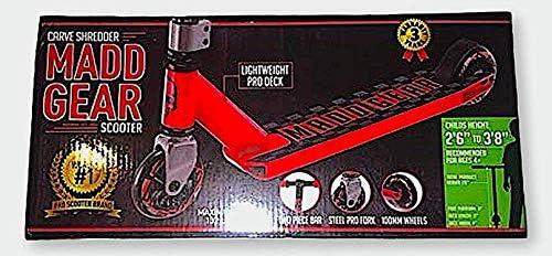 Amazon.com: Madd Gear Carve Shredder Pro Scooter: Sports ...