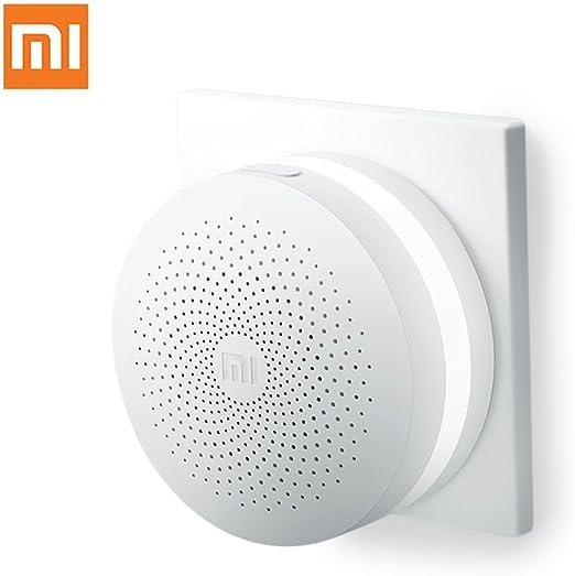 Sensor de casa inteligente puerta de enlace original Xiaomi multifuncional con interruptor sin hilos blanco: Amazon.es: Electrónica