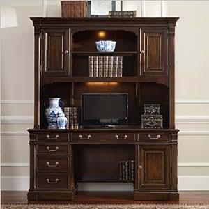 Hooker Furniture Westbury Computer Credenza with Hutch