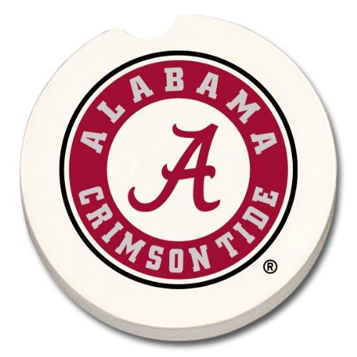 NCAA Alabama Crimson Tide Absorbent Car Coaster '1 COUNT'