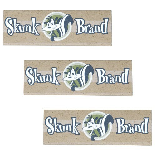 Racing Tubing Accessories - Skunk 1.25 Cigarette Rolling Papers, 3 Packs