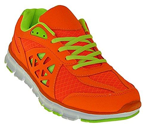 Bootsland Art 835 Neon Turnschuhe Schuhe Sneaker Sportschuhe Neu Herren