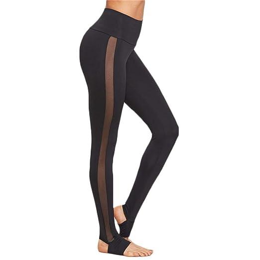 ❤️Embrague de Malla de los Pantalones de Las Mujeres,Yoga Skinny Workout Gym Leggings Deportes de Fitness Absolute: Amazon.es: Ropa y accesorios