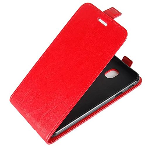 OFU® Para Doogee Mix Funda,PU Hybrid Card Carry Pocket Wallet Slot,Cartera Cuero Funda de Piel Wallet Case para Doogee Mix Carcasa Flip Case Cover(rojo) rojo