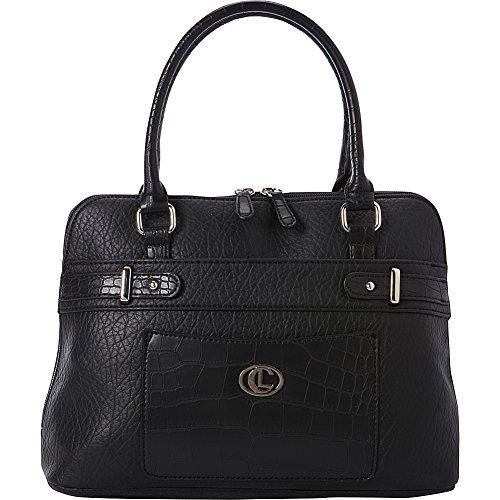 aurielle-carryland-croco-belting-satchel-black