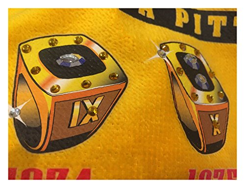 Pittsburgh Steelers Got Rings Terrible Towel 6x Super Bowl Champions at Steeler Mania