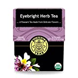 Organic Eyebright Herb Tea - Kosher, Caffeine-Free, GMO-Free - 18 Bleach-Free Tea Bags