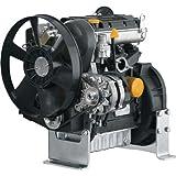 Kohler 3-Cylinder Diesel Engine - 1,028cc, High Speed Open Power with Group 8 Interchange, Model# PAKDW10031001A