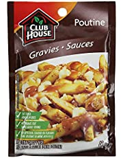 Club House, Dry Sauce/Seasoning/Marinade Mix, Poutine Gravy, 42g - Packaging may vary