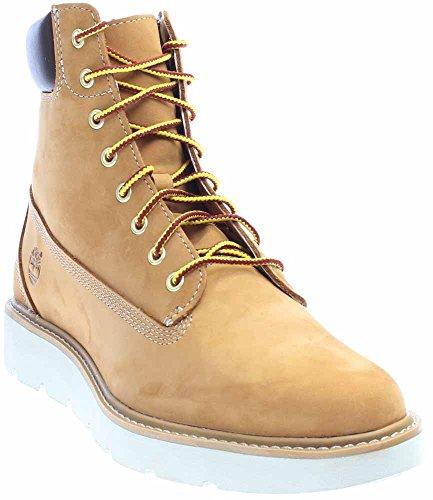 Timberland Women's Kenniston 6 Inch Lace Up Boot, Wheat Nubuck, 8 M US