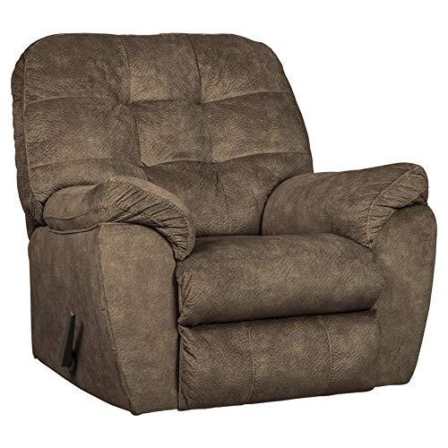 Ashley Furniture Signature Design - Accrington Contemporary Rocker Recliner Chair - Manual Reclining - ()